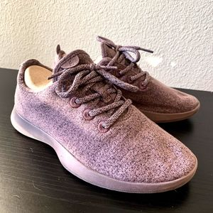 (LIMITED EDITION) Plum Allbirds Wool Runners, W8